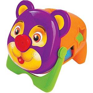 Brinquedo Educativo Urso Tomy C/blocos Merco Toys