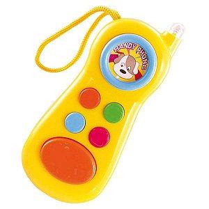 Brinquedo Para Bebê Baby Celular 3389 Sortido Tomix