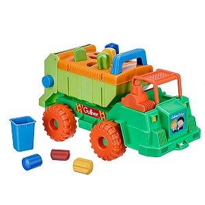 Brinquedo Para Bebê Caminhão Multiformas Gulliver