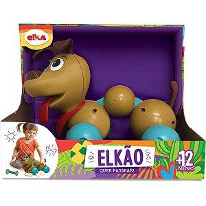 Brinquedo Para Bebê Elkao Quer Passear Elka
