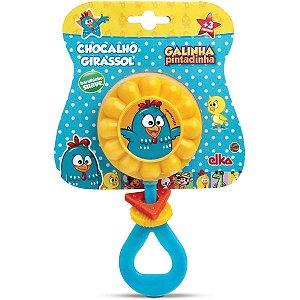Brinquedo Para Bebê Galinha Pintadinha Chocalho Elka