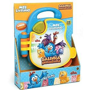 Brinquedo Para Bebê Galinha Pintadinha Livro Sonor Elka