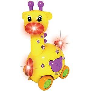 Brinquedo Para Bebê Girafa Rf3393 Toy Mix