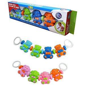 Brinquedo Para Bebê Mobile P/carrinho De Bebê Sort Pais E Filhos