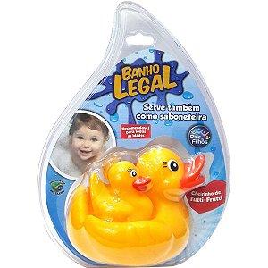 Brinquedo Para Bebê Pata Mae Para Banho Pais E Filhos