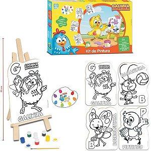 Brinquedo Para Colorir Galinha Pintadinha  Kit Pintur Brinquedos Nig