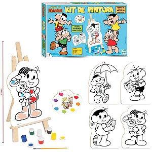 Brinquedo Para Colorir T.da Mônica Kit De Pintura Brinquedos Nig