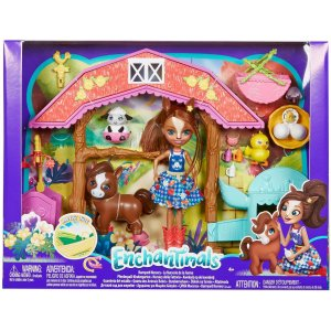Brinquedo Para Menina Enchantimals Aventuras Fazenda Mattel