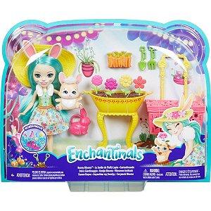 Brinquedo Para Menina Enchantimals Festa No Jardim Mattel