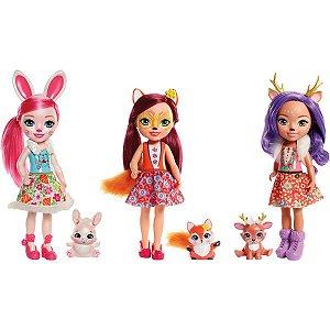 Brinquedo Para Menina Enchntmls Sort Bon E Bichinho Mattel