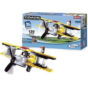 Brinquedo Para Montar Aviao Monomotor Xalingo