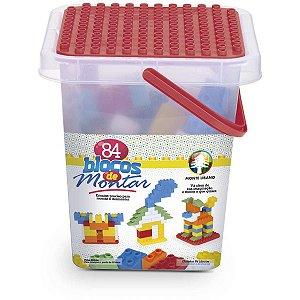Brinquedo Para Montar Blocos De Montar 44Pcs Monte Libano
