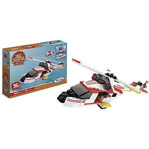 Brinquedo Para Montar Bombeiros Resgate Maritimo164P Xalingo