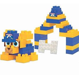 Brinquedo Para Montar Brigada Baby Dog 48Pcs Sort. Merco Toys