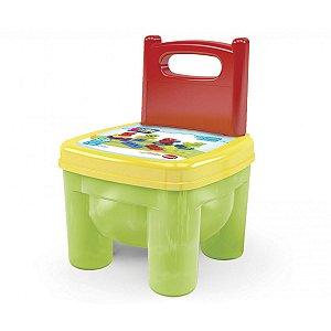 Brinquedo Para Montar Brinkadeira-Cadeira C/blocos Dismat