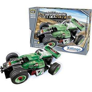 Brinquedo Para Montar Carro S/barreira Friccao 62Pc Xalingo