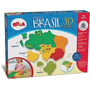 Brinquedo Para Montar Mapa Do Brasil Elka