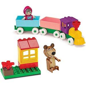 Brinquedo Para Montar Masha E O Urso Trenzinho Monte Libano