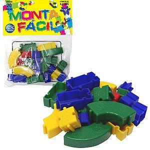 Brinquedo Para Montar Monta Facil 20 Pecas Pais E Filhos