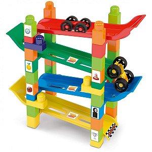 Brinquedo Para Montar Rampa Maluca Dismat