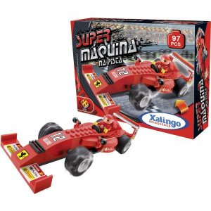 Brinquedo Para Montar Super Maquina Na Pista 97Pcs Xalingo