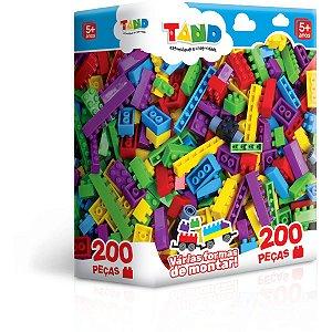 Brinquedo Para Montar Tand 200Pcs Toyster