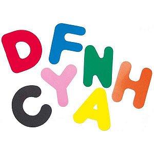 Brinquedo Pedagógico Eva Alfabeto Gd Educativo 3Blister Eduart