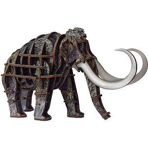 Brinquedo Pedagógico Madeira Mammoth 3D 50 Pecas Brinc. De Crianca