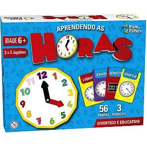 Brinquedo Pedagógico Aprendendo As Horas Pais E Filhos