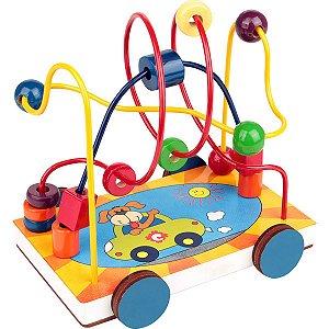 Brinquedo Pedagógico Carrinho Aramado 17X13X14,5Cm Carlu