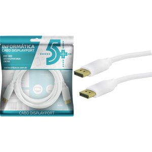 Cabo De Video Displayport+Displayport 1.2 2M Santana Centro