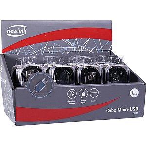 Cabo Usb Micro Usb 5V 2A Preto Newex