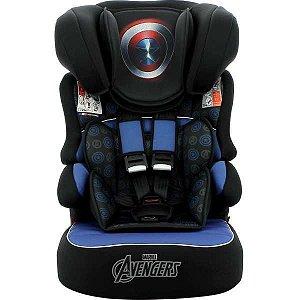 Cadeira De Segurança P/ Carro Beline Capitao America 9 A 36K Nania