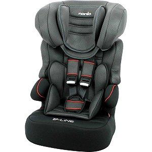 Cadeira De Segurança P/ Carro Beline Luxe Noir 9 A 36Kg Pt Nania
