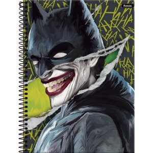 Caderno 01X1 Capa Dura 2021 Batman Teen 80Fls. Foroni