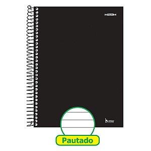Caderno 01X1 Capa Dura 2021 Neutro Preto 96F Tamoio