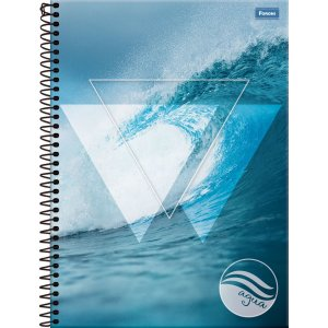 Caderno 01X1 Capa Dura 2021 Quatro Elementos 96 Folhas Foroni