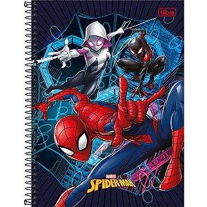 Caderno 01X1 Capa Dura 2021 Spider-Man Light 80Fls. Tilibra