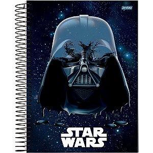 Caderno 01X1 Capa Dura 2021 Star Wars Basic 80Fls. Jandaia