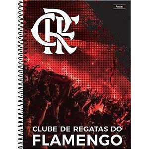 Caderno 10X1 Capa Dura 2021 Flamengo 200Fls. Foroni