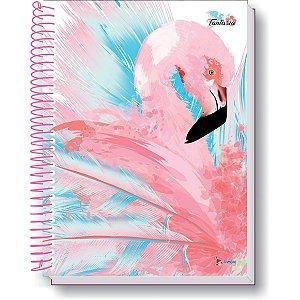 Caderno 10X1 Capa Dura 2021 Flamingo 200F Tamoio