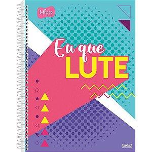 Caderno 10X1 Capa Dura 2021 Lollipop 160F São Domingos