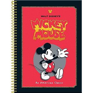 Caderno 10X1 Capa Dura 2021 Mickey Vintage 160Fls. Foroni