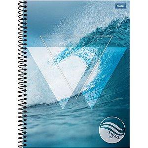 Caderno 10X1 Capa Dura 2021 Quatro Elementos 200 Folhas Foroni