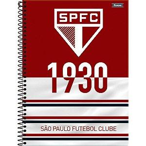 Caderno 10X1 Capa Dura 2021 São Paulo 200Fls. Foroni