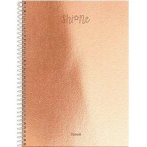 Caderno 10X1 Capa Dura 2021 Shine 160Fls. Foroni