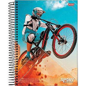 Caderno 10X1 Capa Dura 2021 Sport 160Fls. Jandaia