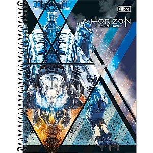 Caderno 10X1 Capa Dura Horizon Zero Dawn 160Fls. Tilibra