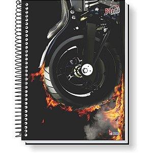 Caderno 10X1 Capa Dura Speed Motors 160F Tamoio