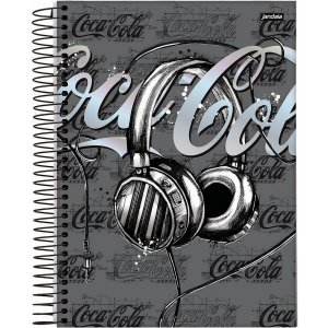 Caderno 15X1 Capa Dura 2021 Coca-Cola 240Fls. Jandaia